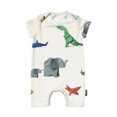 Snurk Playsuit Baby - Paper Zoo