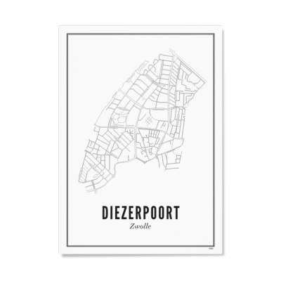 Wijck ansichtkaart Zwolle Diezerpoort