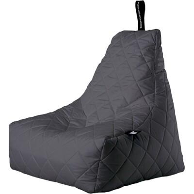 B-Bag zitzak Quilted grijs