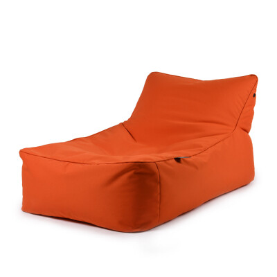B-Bed lounger Oranje incl. kussen Extreme Lounging