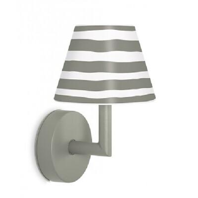 Fatboy Add The Wally oplaadbare wandlamp grijs