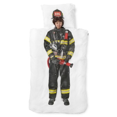 Brandweerman dekbedovertrek Snurk