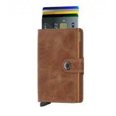 Secrid Mini wallet vintage cognac-rust