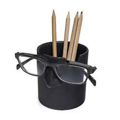 Balvi organizer en brillenhouder Mr. Tidy zwart