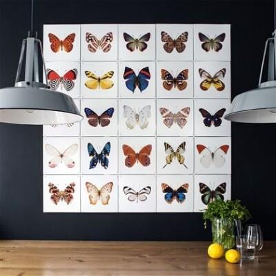 IXXI Vlinders muurdecoratie