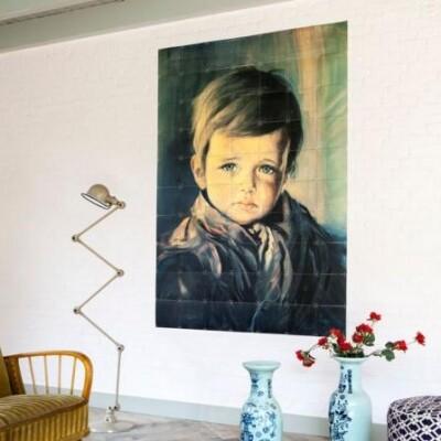 IXXI The Crying boy muurdecoratie
