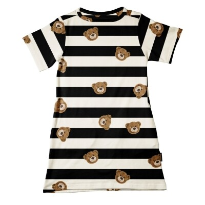 Snurk kinder t-shirt dress Teddy