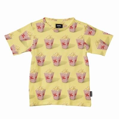 Snurk kinder t-shirt Popcorn
