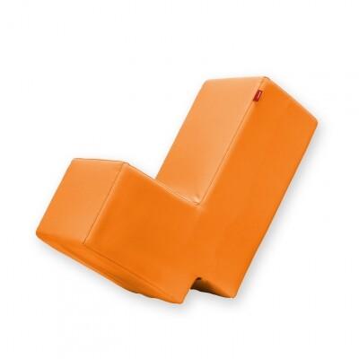Lummel zitobject oranje