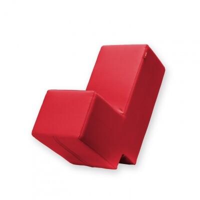 Lummel zitobject rood