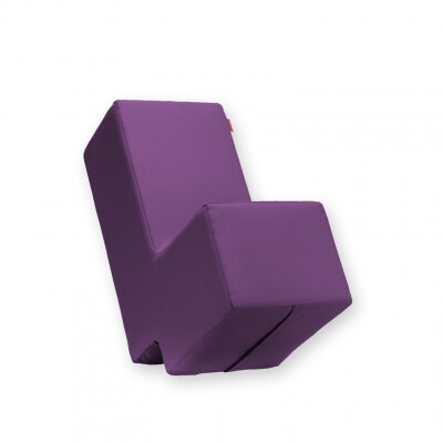 Lummel zitobject paars