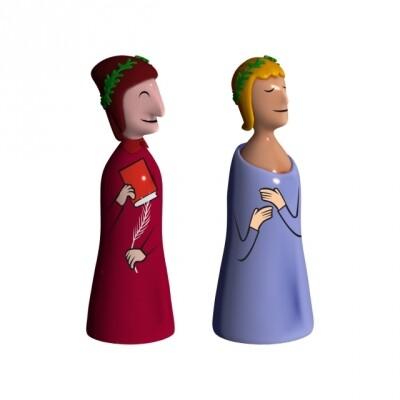 Alessi Dante e Virgilio La Divina Commedia