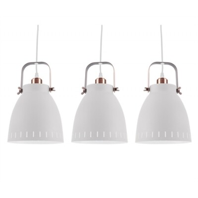 Leitmotiv hanglamp Mingle Triplet wit