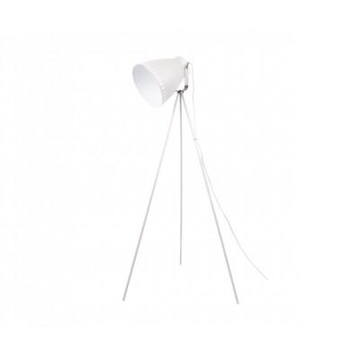 Leitmotiv vloerlamp Mingle wit met rvs
