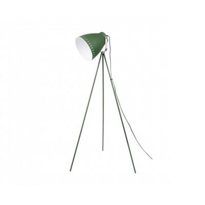 Leitmotiv vloerlamp Mingle rvs met groen