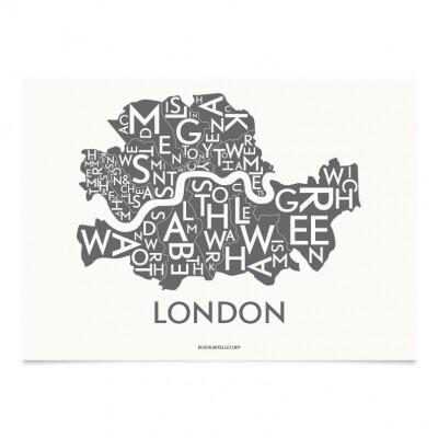 Kortkartellet Londen A5 illustratie