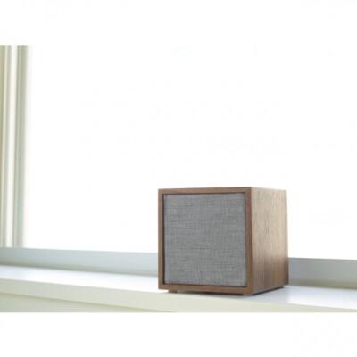 Tivoli audio Cube draadloze speaker walnoot