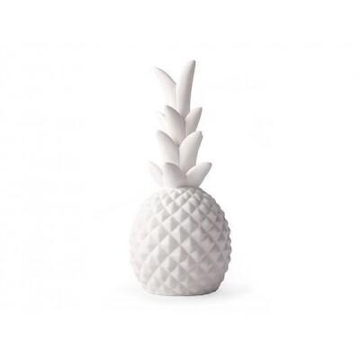 Kikkerland Ananas led lamp porselein
