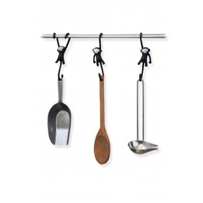 Just Hanging keukenhaken Monkey Business