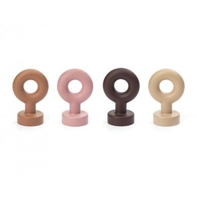 Kikkerland Loop magneten Richard Hutten set van 4