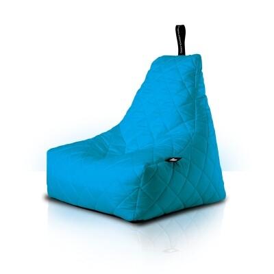 B-Bag zitzak Quilted Aqua