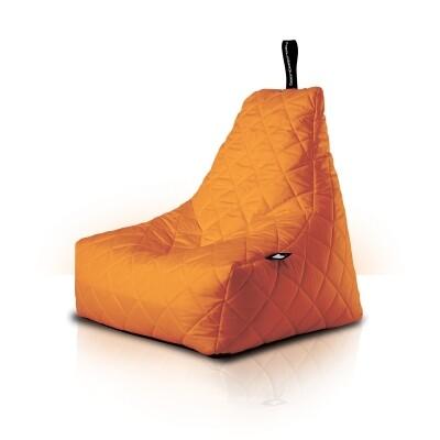 B-Bag zitzak Quilted oranje