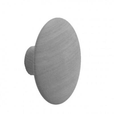 Muuto Dots kapstokhaak Grijs-Large Ø 17 cm