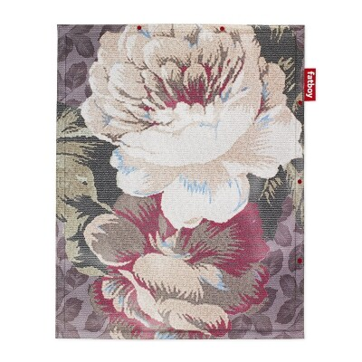 Non Flying Carpet Big Floral Blue