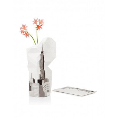 Paper Vase Cover City Edition New York
