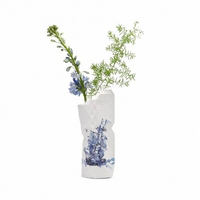 Paper Vase cover Delft Blue Icons small