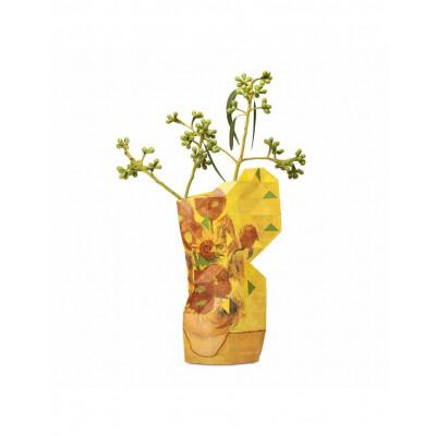Paper Vase Cover Sun Flowers