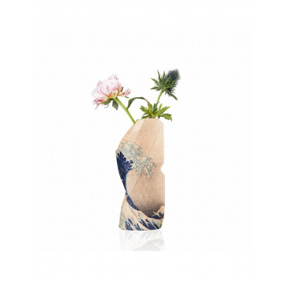 Paper Vase cover small The Great Wave