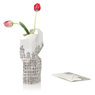 Paper Vase cover Canal Houses
