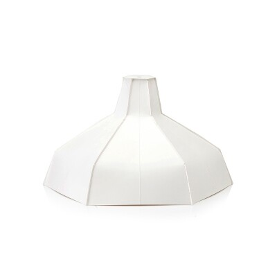 Pepe Heykoop Folded lampshade wit