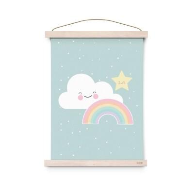 Eef Lillemor Rainbow Poster A3