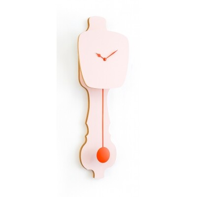 Kloq Wandklok S Peach Pastel