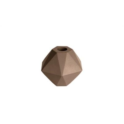 pt kandelaar Nimble Hexagon bruin