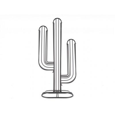 pt koffiecuphouder Cactus zwart