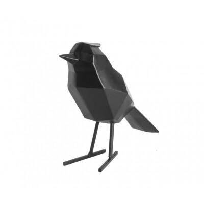 pt Vogel beeld zwart groot