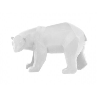 pt Origami ijsbeer beeld wit groot