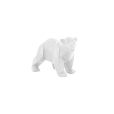 pt Origami ijsbeer beeld wit klein