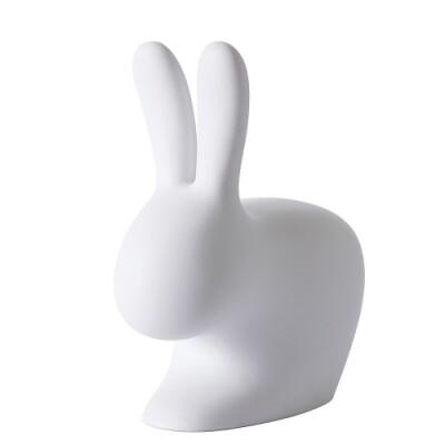 Qeeboo Rabbit Chair licht grijs 80 cm
