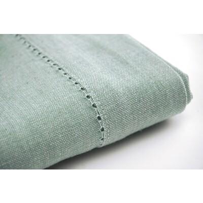 KOOK Tafelkleed gemeleerd Groen 140/230