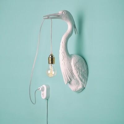 Jasmin Djerzic wandlamp The Flying Dutchman wit