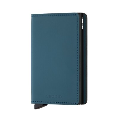 Secrid Slim Wallet mat petrol