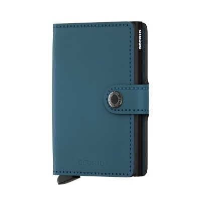 Secrid Mini wallet mat petrol