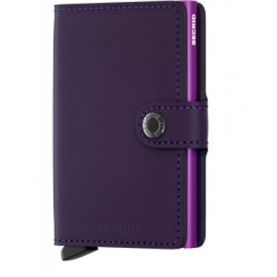 Secrid Mini wallet mat purple
