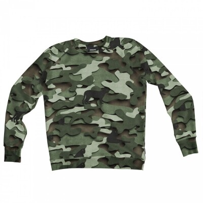 Snurk Sweater Heren Paper Jungle