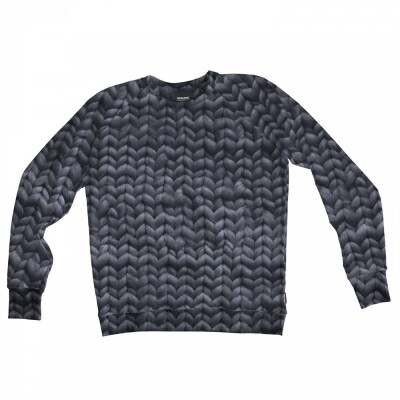 Snurk Sweater Heren Twirre Steel Grey