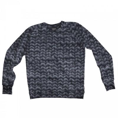 Snurk Sweater Heren Twirre Steel Grey